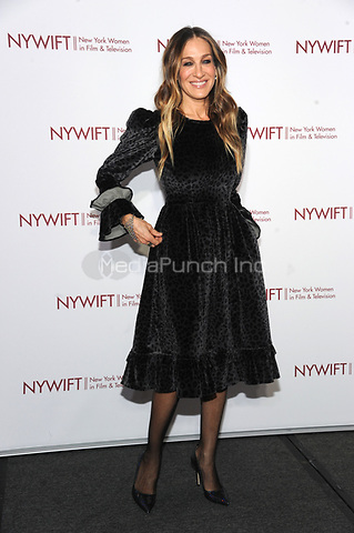 NEW YORK, NY - DECEMBER 13: Sarah Jessica Parker at the New York Women In Film & Television's 2018 Muse Awards in New York City on December 13, 2018. Credit: John Palmer/MediaPunch