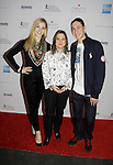 Gracie Gold - Sharon Cohen - Jason Brown - Skating with the Stars - a benefit gala for Figure Skating in Harlem in its 17th year is celebrated with many US, World and Olympic Skaters honoring Michelle Kwan and Jeff Treedy on April 7, 2014 at Trump Rink, Central Park, New York City, New York. (Photo by Sue Coflin/Max Photos)