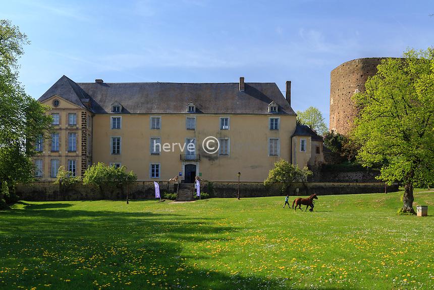 France, la Puisaye, Yonne (89), Saint-Sauveur-en-Puisaye, le musée Colette // France, the Puisaye, Yonne, Saint-Sauveur-en-Puisaye, Colette Museum