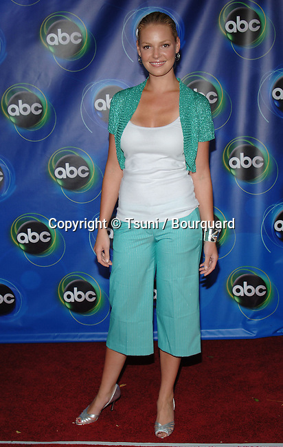 Katherine Heigl arriving at the ABC - tca Summer 2005 Party at the ABBY Restaurant in Los Angeles. July 27, 2005.
