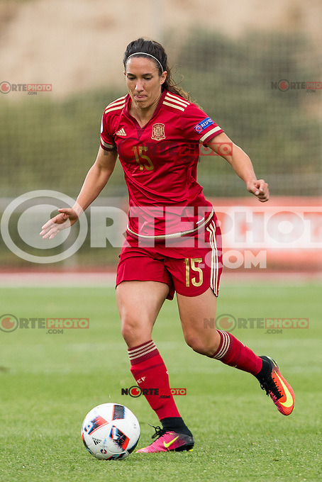 Spain's Silvia Meseguer during the match of  European Women's Championship 2017 at Las Rozas, between Spain and Montenegro. September 15, 2016. (ALTERPHOTOS/Rodrigo Jimenez) /NORTEPHOTO