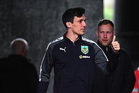 Burnley's Jack Cork arrives at the liberty stadium <br /> <br /> Photographer Ashley Crowden/CameraSport<br /> <br /> The Premier League - Swansea City v Burnley - Saturday 10th February 2018 - Liberty Stadium - Swansea<br /> <br /> World Copyright &copy; 2018 CameraSport. All rights reserved. 43 Linden Ave. Countesthorpe. Leicester. England. LE8 5PG - Tel: +44 (0) 116 277 4147 - admin@camerasport.com - www.camerasport.com