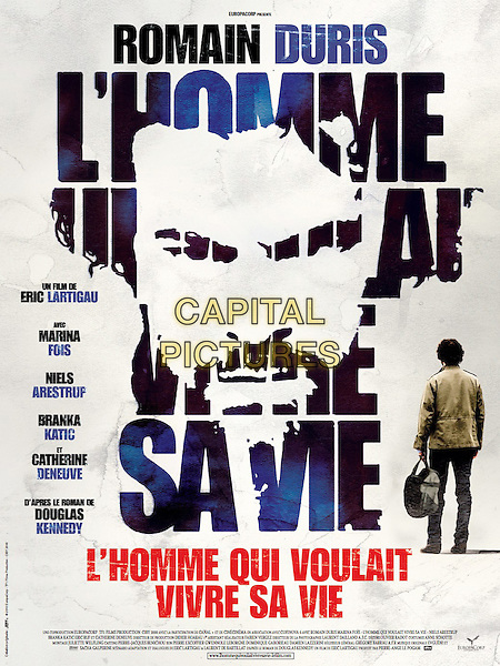 ORIGINAL FRENCH POSTER ART.in The Big Picture (2010) .(L'homme qui voulait vivre sa vie).*Filmstill - Editorial Use Only*.CAP/FB.Supplied by Capital Pictures.