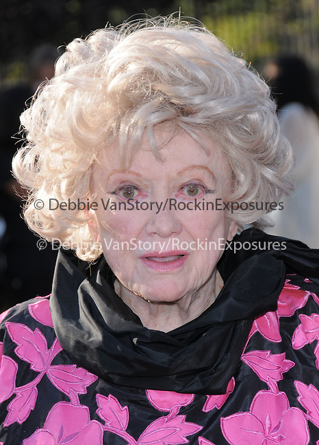 Phyllis Diller at the 9th Annual Chrysalis Butterfly Ball held at  a private residence in Brentwood, California on June 05,2010                                                                               © 2010 Debbie VanStory / Hollywood Press Agency