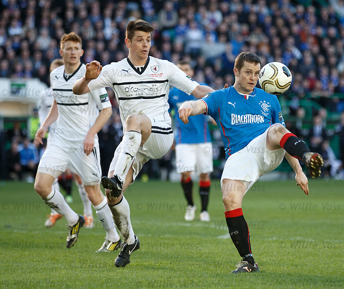 Jon Daly and Dougie Hill