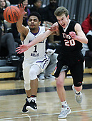 Troy at Bloomfield Hills, Boys Varsity Basketball, 3/8/17