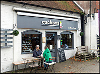BNPS.co.uk (01202 558833)<br /> Pic:  RogerArbon/BNPS<br /> <br /> Cuckoos.<br /> <br /> A retirement town that is overspilling with coffee shops is to get its 15th after officials lost their bid to put a lid on them.<br /> <br /> Councillors in Christchurch, Dorset, refused a Coffee#1 permission to take over an empty shop because the town had too many cafes.<br /> <br /> But the national chain appealed the decision and have won their case.<br /> <br /> It means there will now be 15 coffee shops in a 500 metre stretch of the High Street - or one every 33 metres.
