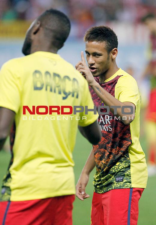 FC Barcelona's Neymar Santos Jr during Supercup of Spain 1st match.August 21,2013. Foto © nph / Victor Blanco)