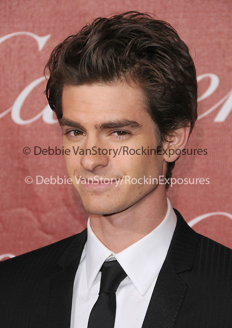 Andrew Garfield attends the 2011 Palm Springs International Film Festival Awards Gala held at The Palm Springs Convention Center in Palm Springs, California on January 08,2011                                                                               © 2010 Hollywood Press Agency