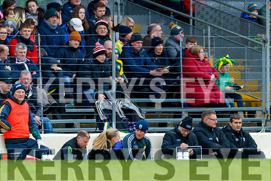 during the Allianz Football League Division 1 Round 4 match between Kerry and Meath at Fitzgerald Stadium in Killarney, on Sunday.