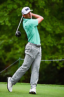 Billy Horschel (USA) watches his tee shot on 2 during round 4 of the Shell Houston Open, Golf Club of Houston, Houston, Texas, USA. 4/2/2017.<br /> Picture: Golffile | Ken Murray<br /> <br /> <br /> All photo usage must carry mandatory copyright credit (&copy; Golffile | Ken Murray)