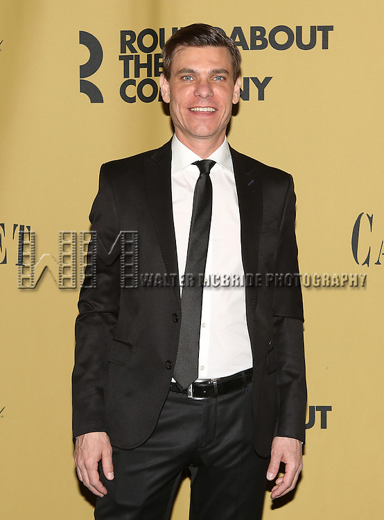 Aaron Krohn attending the Broadway Opening Night After Party for 'Cabaret' at Studio 54 on April 24, 2014 in New York City.