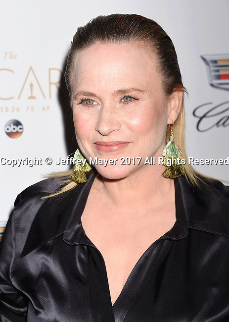 LOS ANGELES, CA - FEBRUARY 23: Actress Patricia Arquette attends Cadillac's 89th annual Academy Awards celebration at Chateau Marmont on February 23, 2017 in Los Angeles, California.