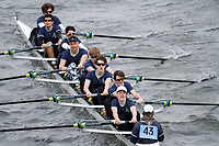 Crew: 43  Eton Coll  Event: School 2nd Eights<br /> <br /> Schools' Head of the River 2017<br /> <br /> To purchase this photo, or to see pricing information for Prints and Downloads, click the blue 'Add to Cart' button at the top-right of the page.