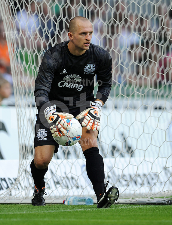 FUSSBALL   INTERNATIONAL  SAISON 2011/2012   TESTSPIEL SV Werder Bremen - FC Everton                 02.08.2011 Torwart Jan MUCHA (FC Everton)