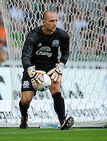 FUSSBALL   INTERNATIONAL  SAISON 2011/2012   TESTSPIEL SV Werder Bremen - FC Everton                 02.08.2011 Torwart Jan MUCHA (FC Everton)