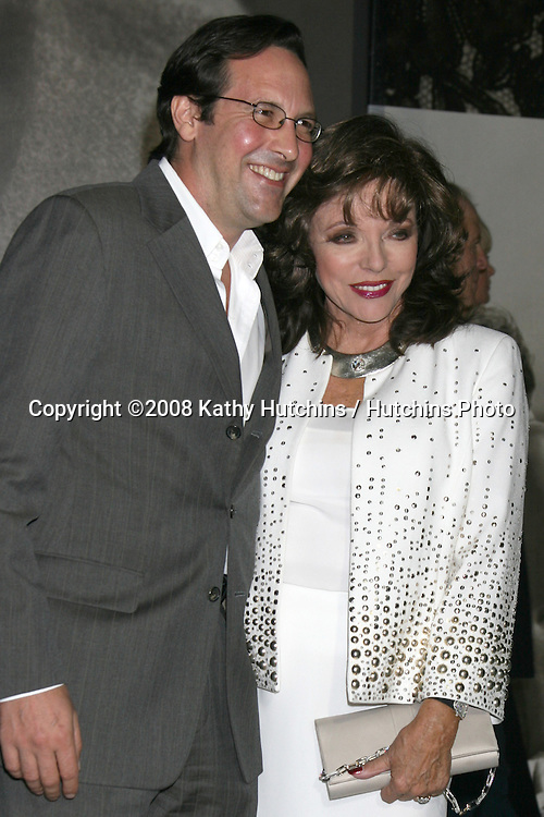 """Joan Collins arriving at the Private Preview of """"Vanity Fair Portraits:  Photoraphs 1913 - 2008"""" an exhiibition at LACMA in Los Angeles, CA on.October 21, 2008.©2008 Kathy Hutchins / Hutchins Photo...                ."""