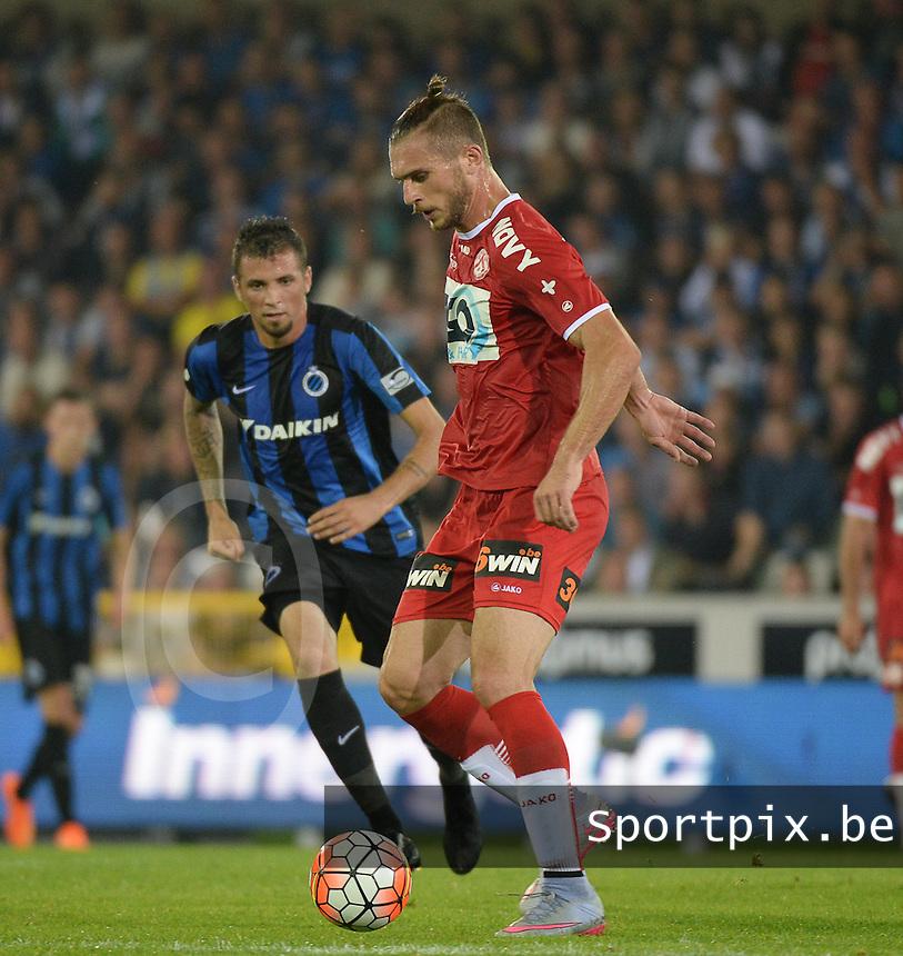 Club Brugge - KV Kortrijk : Thanasis Papazoglou <br /> Foto VDB / Bart Vandenbroucke