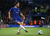 5th December 2017, Stamford Bridge, London, England; UEFA Champions League football, Chelsea versus Atletico Madrid; Cesar Azpilicueta of Chelsea in action