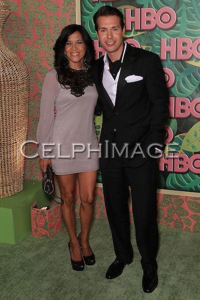 LISA GOMEZ, JON SEDA. HBO Post Emmy Reception at the Pacific Design Center. West Hollywood, CA, USA. August 29, 2010. ©CelphImage