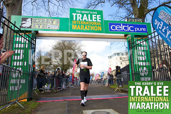 1327 Catriona Kelly who took part in the Kerry's Eye, Tralee International Marathon on Saturday March 16th 2013.