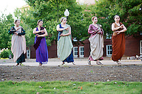 Classical Week 2016 Phaedra (Roman tragedy by Seneca) performance at the Zacharias Village Courtyard, presented by The Shakouls Honors College: the Athenian Women.<br />