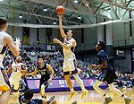 University at Albany men's basketball defeats Maine at the  SEFCU Arena, Feb. 24, 2018.  Joe Cremo (#24). (Bruce Dudek / Eclipse Sportswire)