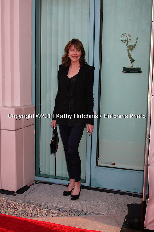 """LOS ANGELES - APR 20:  Christa Miller arriving at """"An Evening With Cougar Town"""" at Academy of Television Arts and Sciences on April 20, 2011 in No. Hollywood, CA.."""