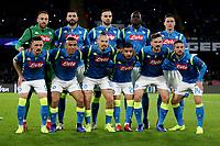 Formazione Napoli Line Ups Team <br /> Napoli 28-11-2018 Stadio San Paolo<br /> Football Calcio UEFA Champions League 2018/2019 Group C <br /> Napoli - Crvena Zvezda<br /> Foto Cesare Purini / Insidefoto