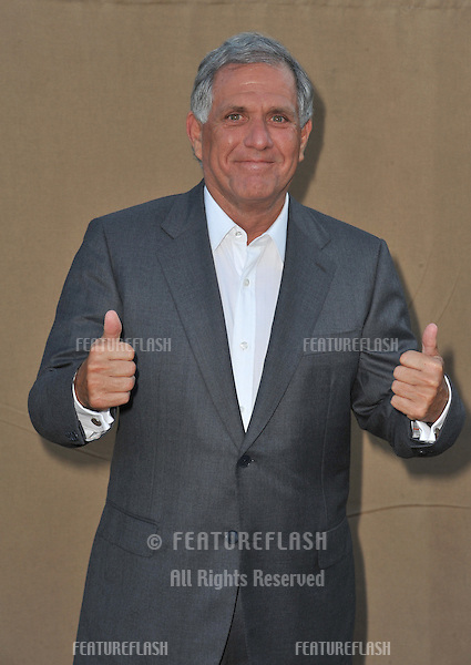 CBS boss Leslie Moonves at the CBS 2013 Summer Stars Party in Beverly Hills.<br /> July 29, 2013  Los Angeles, CA<br /> Picture: Paul Smith / Featureflash