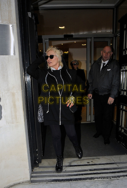 LONDON , UK - FEBRUARY 27 - Debbie Harry leaving BBC Radio 2 , London , England , 27th February 2014. <br /> CAP/IA<br /> &copy;Ian Allis/Capital Pictures