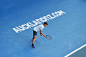 10th January 2018, ASB Tennis Centre, Auckland, New Zealand; ASB Classic, ATP Mens Tennis;  Denis Shapovalov (CAN) during the ASB Classic ATP Men's Tournament Day 3