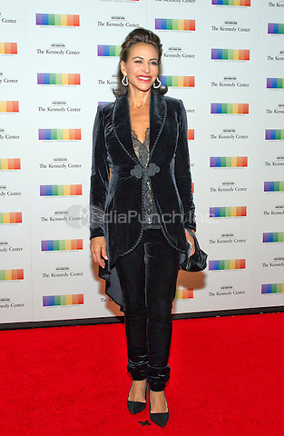 Giselle Fern&middot;ndez arrives for the formal Artist's Dinner honoring the recipients of the 38th Annual Kennedy Center Honors hosted by United States Secretary of State John F. Kerry at the U.S. Department of State in Washington, D.C. on Saturday, December 5, 2015. The 2015 honorees are: singer-songwriter Carole King, filmmaker George Lucas, actress and singer Rita Moreno, conductor Seiji Ozawa, and actress and Broadway star Cicely Tyson.<br /> Credit: Ron Sachs / Pool via CNP/MediaPunch