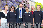 Guest of Honour Jack O'Connor who presented the awards at the annual Killarney Community College student awards on Friday evening l-r: Fiona O'Brien Principal, Michelle O'Connor, Jack O'Connor, Jennifer O'Keeffe, Stella Loughnane Deputy Principal and Kamil Pastuszka