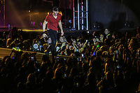 The Spanish singer Enrique Iglesias, during the night of his concert at Expo Forum, as part of their sex and love touring Mexico.<br />