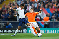 Guimaraes, Portugal - Thursday, June 6, 2019: Netherlands beat England 3-1 in overtime to reach the final of UEFA Nations League 2019 at D. Afonso Henriques Stadium in Guimaraes.