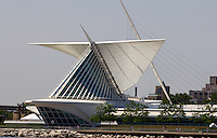 The Milwaukee Art Center building on Lake Michigan, Milwaukee, WI, Sunday, June 26, 2011.  (Photo by Brian Cleary/www.bcpix.com)