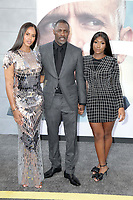 "LOS ANGELES - JUL 13:  Sabrina Dhowre Elba1055, Idris Elba, Isan  at the ""Fast & Furious Presents: Hobbs & Shaw"" Premiere at the Dolby Theater on July 13, 2019 in Los Angeles, CA"