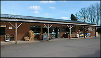 BNPS.co.uk (01202 558833)<br /> Pic: TomWren/BNPS<br /> <br /> Washingpool Farm Shop.<br /> <br /> While the whole country has been enjoying the final series of TV drama Broadchurch, no one is relishing the show more than the businesses of West Bay.<br /> <br /> The 'Broadchurch effect' has sent visitor numbers to the sleepy Dorset town, where the show is set, skyrocketing in the past four years.<br /> <br /> And the latest, and final, series, which finishes on Monday, has only fanned the flames, with a host of new businesses benefiting from their association with the show.<br /> <br /> Tourism organisation Visit Dorset has experienced an increase of 133 per cent in enquries and bookings on its website.<br /> <br /> Local businesses which feature on screen have also seen their profits soar thanks to 'Broadies' who stop for a selfie before calling in to make a purchase.<br /> <br /> One premises in particular has been the Washingpool Farm Shop, which is Flintcombe Farm Shop run by Lenny Henry's character Ed Burnett in Broadchurch.