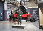Isambard Kingdom Brunel engineer model, Steam museum of the Great Western Railway, Swindon, England, UK