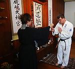 Seido Karate 40th anniversary Zazen class, 25th October 2014,Nelson, ,Evan Barnes / Shuttersport.