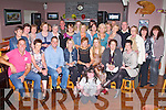 BIRTHDAY CELEBRATIONS: Sheila Brosnan, Scartgortatlea, (seated 5th left) enjoying a great celebrating her birthday with family and friends at O'Riada's restaurant and bar, Ballymacelligott on Friday.