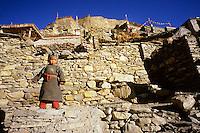 Phu village, Annapurna region, Nepal, 2008