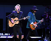 SUNRISE FL - FEBRUARY 20: Neil Finn and Mike Campbell of Fleetwood Mac perform at The BB&T Center on February 20, 2019 in Sunrise, Florida. Photo by Larry Marano © 2019