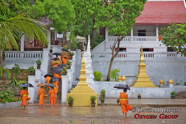 Monks Heading Back To Monestary