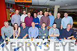 The staff of the ESB depot in Tralee enjoying the night out in the Greyhound Track on Friday night.