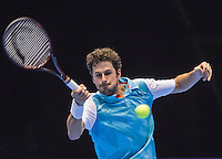 Rotterdam, Netherlands, December 14, 2016, Topsportcentrum, Lotto NK Tennis,   Robin Haase (NED)<br /> Photo: Tennisimages/Henk Koster