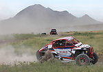 Darin Howie works his way around the course at the beginning of the Buffalo Chip 100 off-road racing event Saturday at the T.O.R.C. track in Sturgis, S.D. (Photo by Richard Carlson/Inertia)