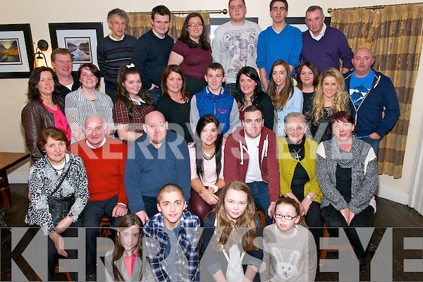 The Breen family gathered together last Thursday night in The Kerry Way Glenflesk to celebrate Paula Breen's 21st Birthday (pictured centre) and to say goodbye to Donie, Anna, Shane and Amy Breen before they headed off back to Australia.