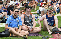 30th November 2019, Hamilton, New Zealand;  Fans and supporters on day 2 of 2nd test match between New Zealand and England,  International Cricket at Seddon Park, Hamilton, New Zealand.  - Editorial Use